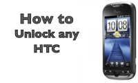 Learn how to unlock a HTC phone