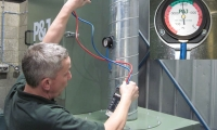 Install a LEV system to collect the air contaminants at the source